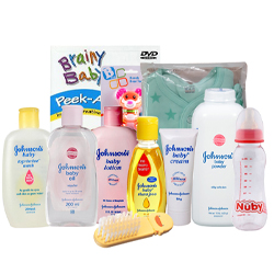Admirable Johnson Baby Care Gift Set