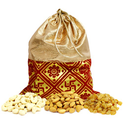 Fancy Dry Fruits Potli Bag