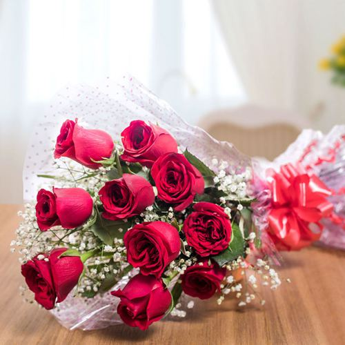 Shop Online for Red Roses Bouquet