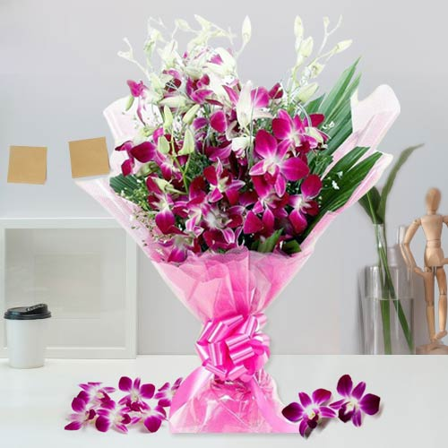 Attractive Orchids Bouquet