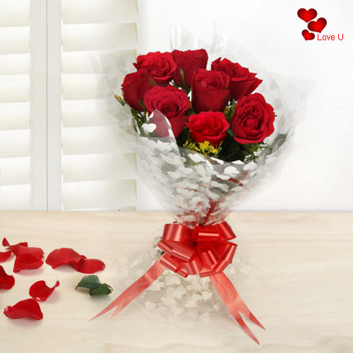 Gift Online Red Roses Bouquet