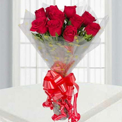 Birthday Delight Red Rose Bouquet