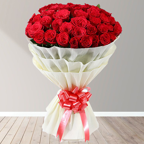 Stunning Red Rose Bouquet