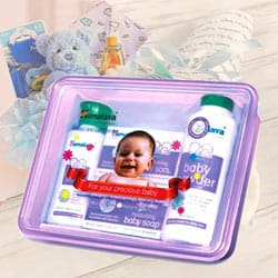 Babycare Gift Box (Oil-Soap-Powder)