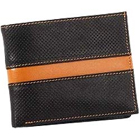 Trendy and Chic Looking Genuine Leather Men's Wallet in Black and Brown from Leather Talks