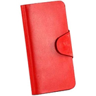 Brignt Red Genuine Leather Leather Talk Ladies Wallet