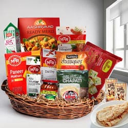 Indulgent Selection of North Indian Lunch Hamper