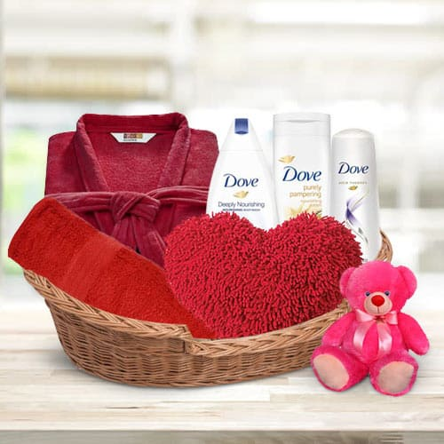 Essential Bathing Assortments Gift Basket