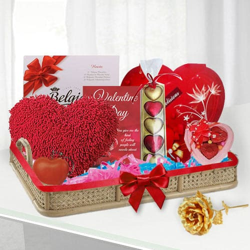 Tasty Valentine Chocos Collection Gift Set<br>