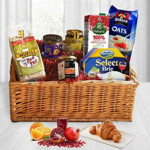 Sumptuous Gourmet Goodness Gift Basket<br><br>