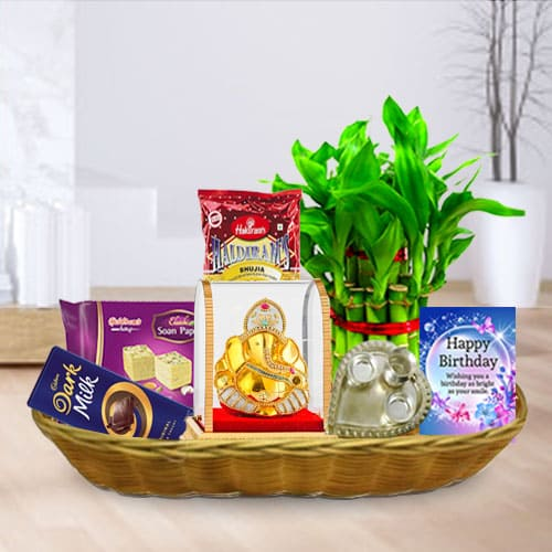 Sweet N Salty Birthday Gift Basket<br>