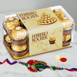 Rakhi with Ferrero Rocher Chocolates