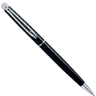 Incomparable Renown Hemisphere Mars Black CT Ball Pen from Waterman