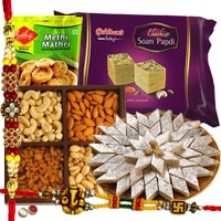 Arresting Hamper of Rakhi Special Tidbits