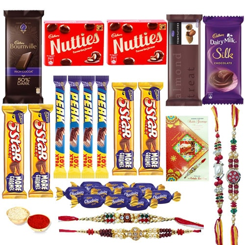 Decadent Rakhi Chocolate Gift Set