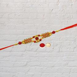 Impressionable Band of Colorful Rakhi