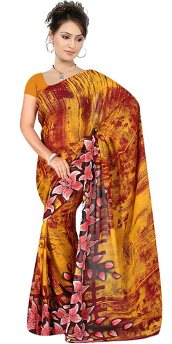Ravishing Women�s Georgette Saree from Suredeal