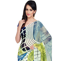Amazing Dani Georgette Saree