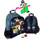 Ben 10 School Bag for Boys with Ben 10 Rakhi and Roli Tilak Chawal