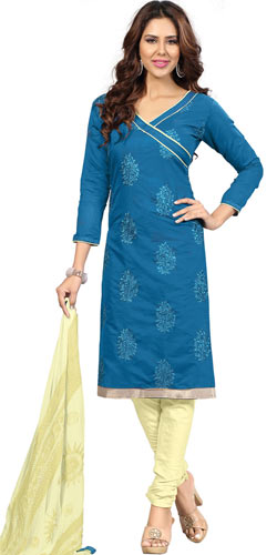 Beauty-of-Buoyancy Santoon Silk Salwar Suit