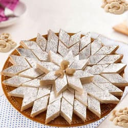 Send Lip-smacking Kaju Katli from Haldiram to Thrissur