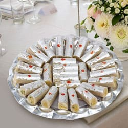 Send Haldiram Kaju Pista Roll to Mysore
