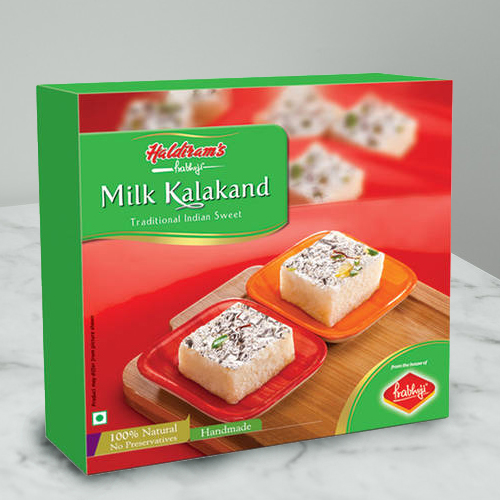 Craving�s Prize Milk Kalakand Sweets from Haldirams