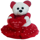 Charming Teddy with Affection