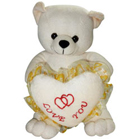 Beautiful Charley Bear with Heart Touching Affection