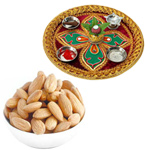Diwali Thali with Almonds