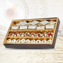 Tasty Mixed Sweets for Pooja