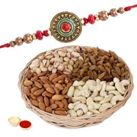 Premium Rakhi with Dry Fruits