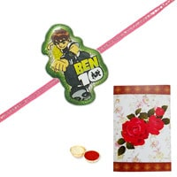 Fetching Ben 10 Rakhi