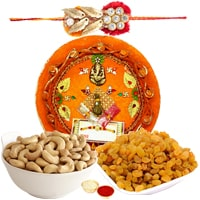 Incredible Rakhi Thali Assemblage