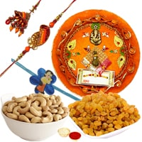 Exclusive Rakhi Thali Array