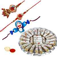 Gorgeous Family Rakhi Gift Set