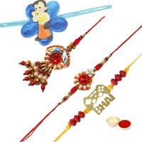 Wonderful Family Rakhi Set