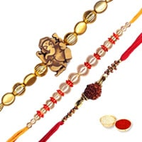 Auspicious Set of Rakhis