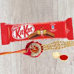 Kitkat Chocolate with Rakhi