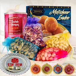 Delicious Sweets N Dry Fruits Gift Combo