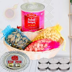 Remarkable Gulab Jamun N Dry Fruits Combo<br>