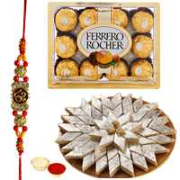 Sweets n Chocolate Hamper n Rakhis