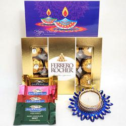Special Gift Combo of Chocolates N Candle