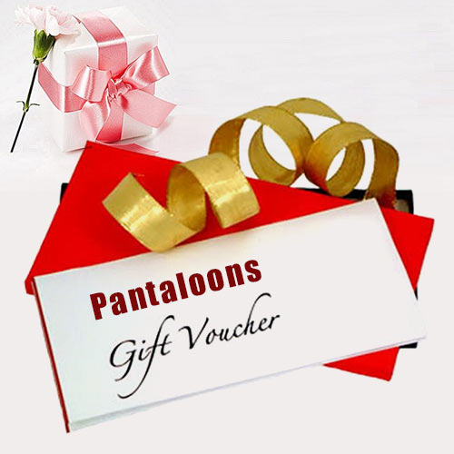 Unique Gift Voucher from Pantaloons wort