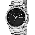 Send Black dial gents watch from Sonata 