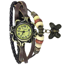 Beautifully crafted butterfly design watch cum bracelet