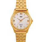 Send Beautiful white dial analog watch for gents from Timex to Pollachi